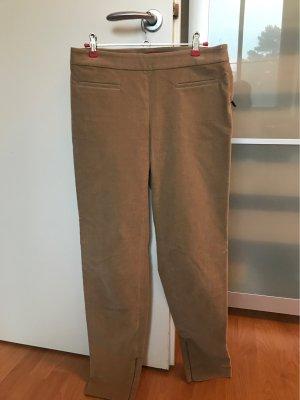 Max Mara Pantalón de pana marrón arena Algodón
