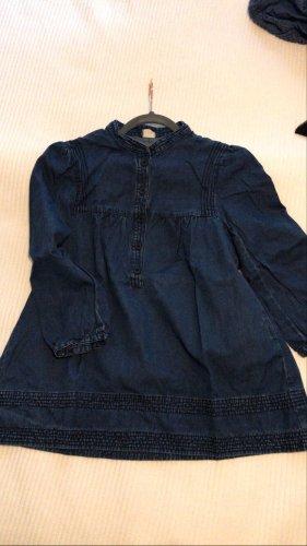 H&M Blouse en jean bleu foncé-bleu