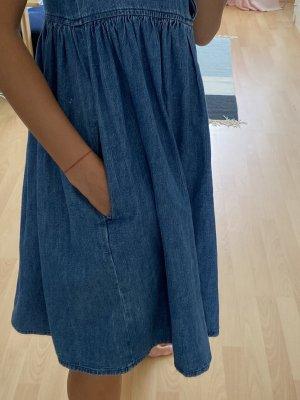 M.I.H. Jeans Vestido babydoll azul