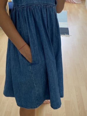 M.I.H. Jeans Sukienka typu babydoll niebieski