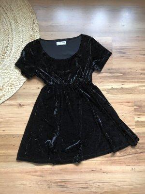 American Apparel Sukienka typu babydoll czarny