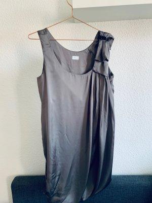 H&M Vestido babydoll gris Poliéster