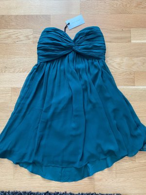 NLY One Robe Babydoll bleu pétrole