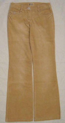 Babykordjeans Schlaghose Jeans Größe 34 Feinkord Hose Beige