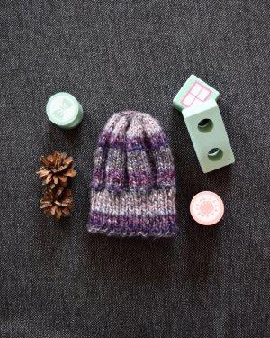Ohne Chapeau en tricot rose clair-violet