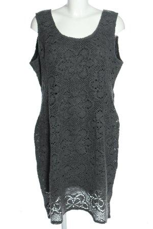 Back fragt Robe crayon gris clair Motif de tissage style décontracté