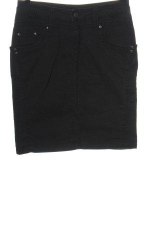 Background Jeansowa spódnica czarny W stylu casual