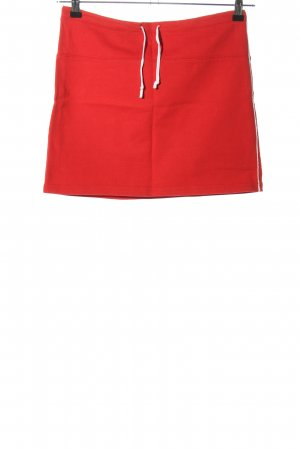 Background Miniskirt red casual look