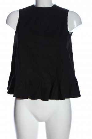 Background Slip-over Blouse black casual look