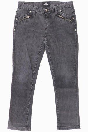 Background Jeansy z prostymi nogawkami Wielokolorowy