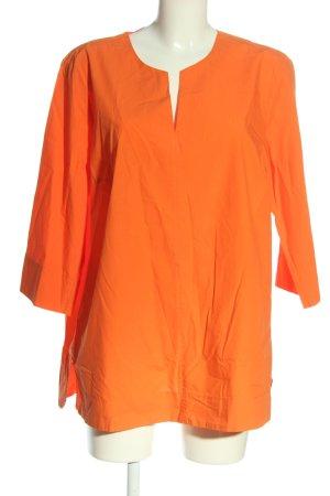 Backstage Bluzka z długim rękawem jasny pomarańczowy W stylu biznesowym