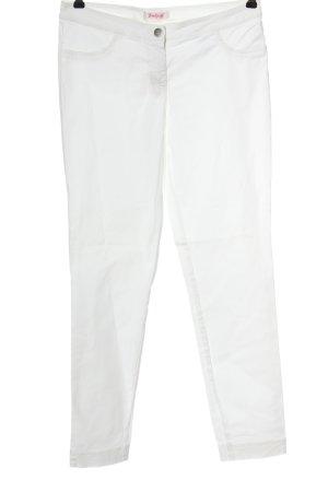 Backstage Jeans skinny blanc style décontracté