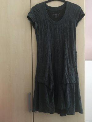 Back fragt Summer Dress dark green cotton
