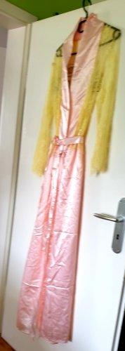 Cappotto lungo fino a terra rosa chiaro