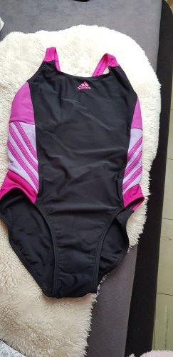 Adidas Maillot de bain noir-rose