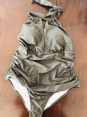Cupshe Swimsuit khaki-olive green