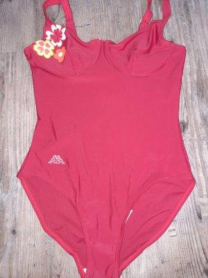 Kappa Swimsuit dark red