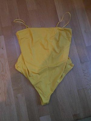Badeanzug gelb 46 XXXL