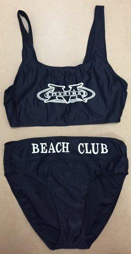 Bikini negro-blanco