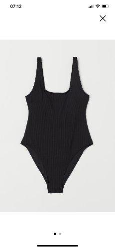 H&M Maillot de bain noir polyester