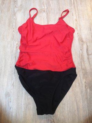 Badeanzug Tankini Lascana 36 schwarz rot