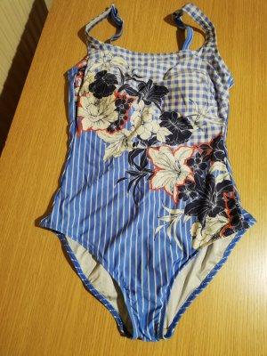 Anita Zwempak korenblauw Nylon