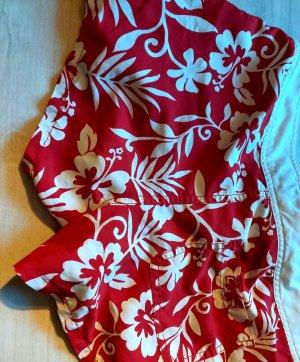 Tommy Hilfiger Bañador de hombre blanco-rojo tejido mezclado