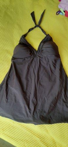 bpc Strój kąpielowy (sukienka) brązowy