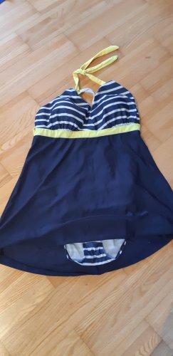 Robe de bain bleu
