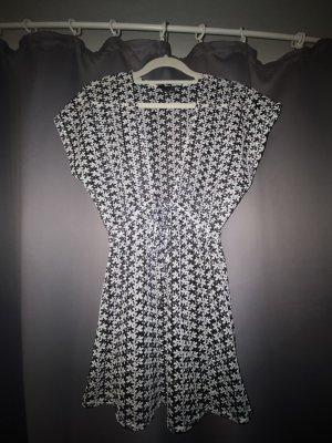 Primark Robe de bain blanc-noir