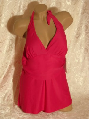 Basic Line Robe de bain rose