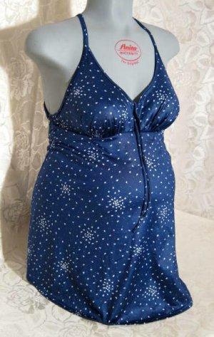 Anita Strój kąpielowy (sukienka) niebieski