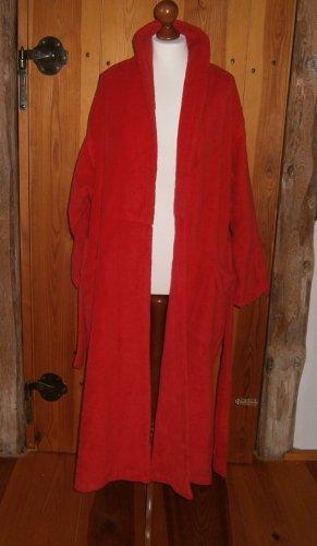 Peignoirs de bain rouge coton
