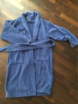 Bademantel Baumwolle Gr.M blau neu und ungetragen