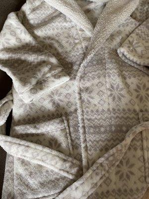 Oysho Bathrobe white-light grey