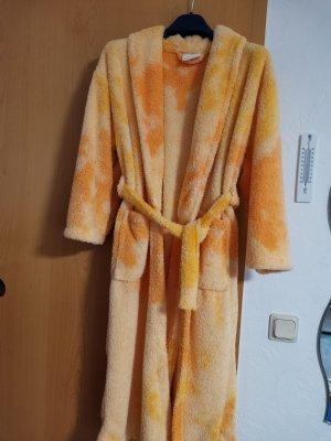 Robe de bain blanc cassé-rose chair