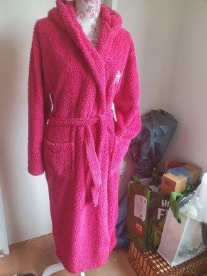 Bademantel flauschig und Pink