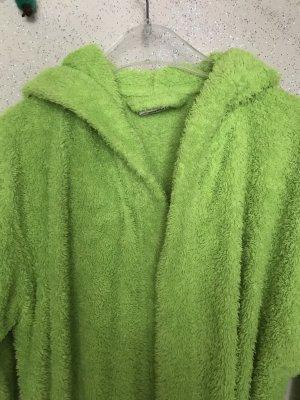 Hooded Coat neon green