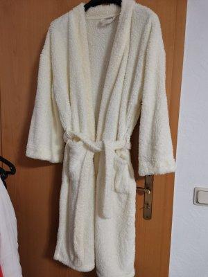 Bathrobe natural white