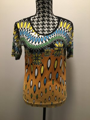 Bader T-shirt imprimé multicolore viscose