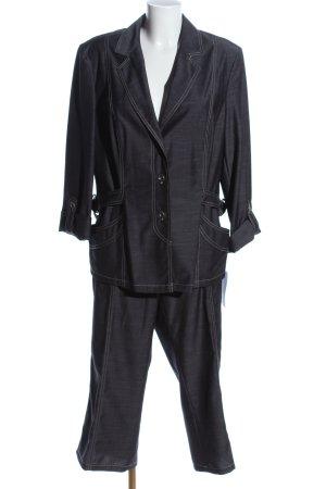Bader Trouser Suit black casual look