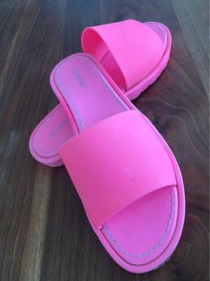 Seastar Sandały plażowe różowy neonowy