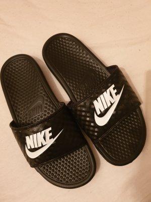 Nike Ciabatta aperta nero
