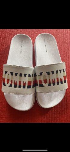 Tommy Hilfiger Sandały plażowe biały