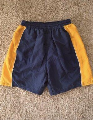 Costume boxer giallo-blu