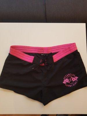 okay Swimming Trunk black-pink