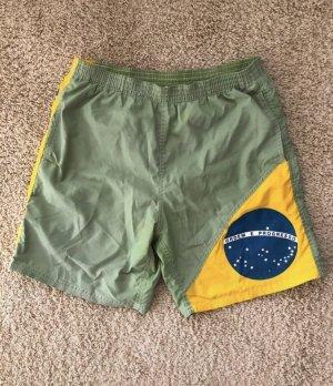 Costume boxer verde chiaro-verde