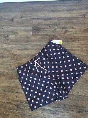 Shorts nero-rosa