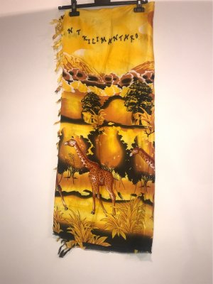 Beach Towel yellow-neon orange
