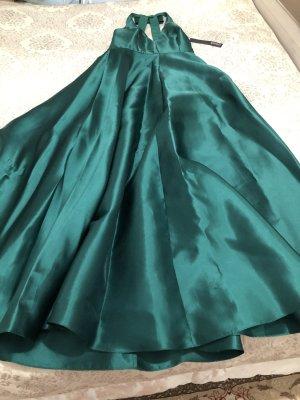 Badgley Mischka Evening Dress forest green